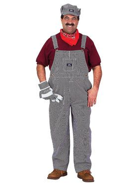Train Engineer Men's Costume