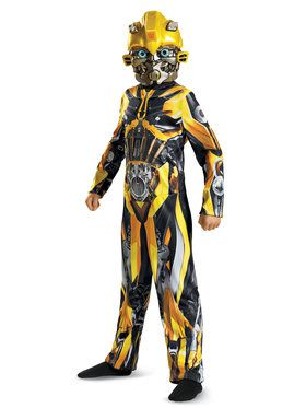 Transformer 5 Bumblebee Classic Costume For Children