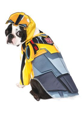 Deluxe Transformers Bumblebee Costume for Pets