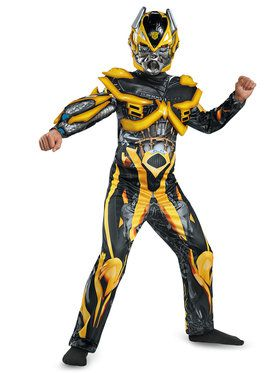 Transformers 4 Bumblebee Deluxe Child Costume