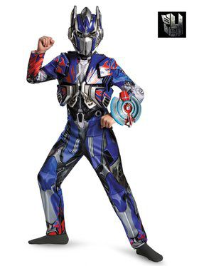 Transformers 4 Optimus Prime Deluxe Child Costume
