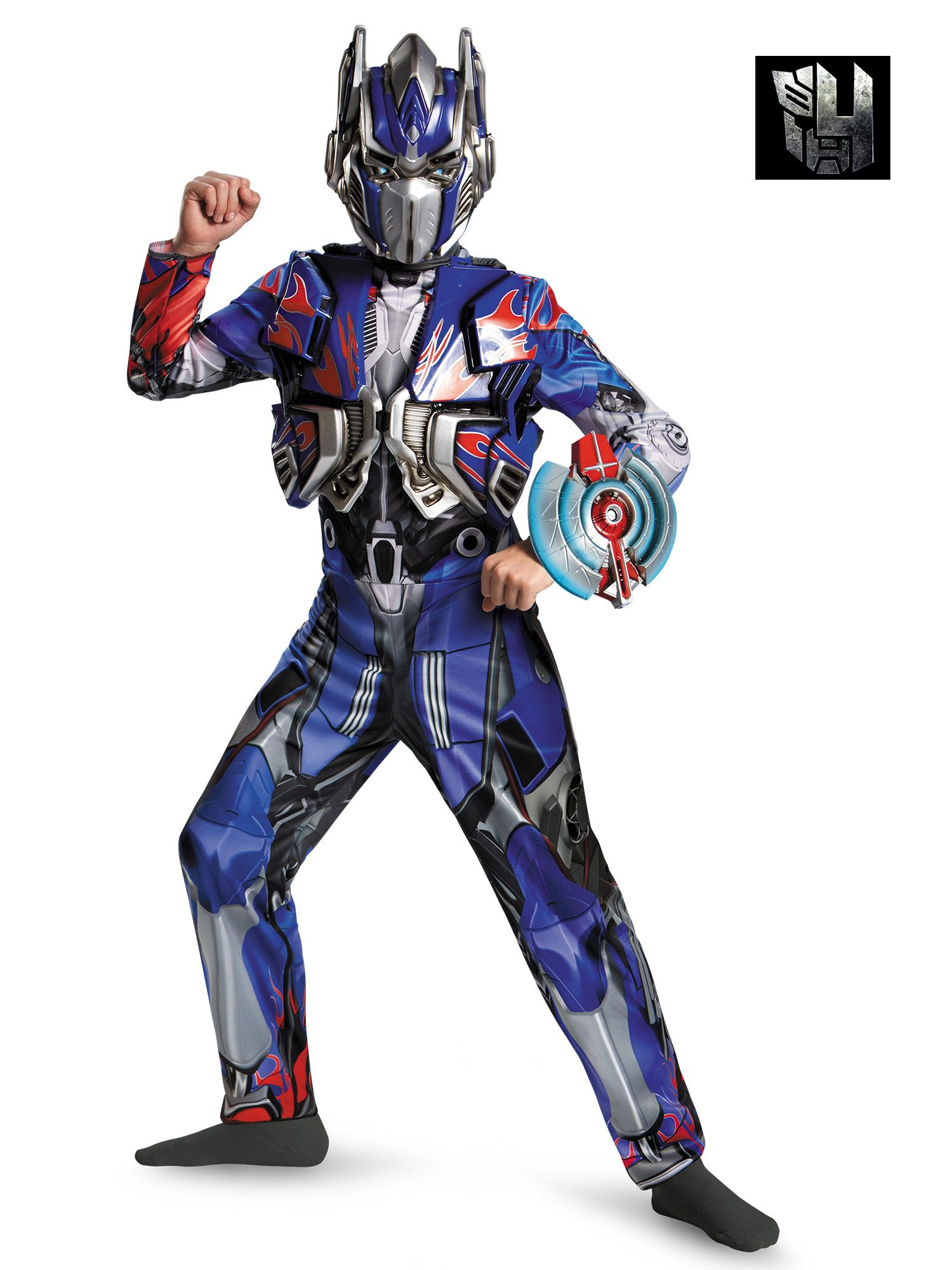 Transformers 4 Optimus Prime Deluxe Costume for Boys DI73521-L
