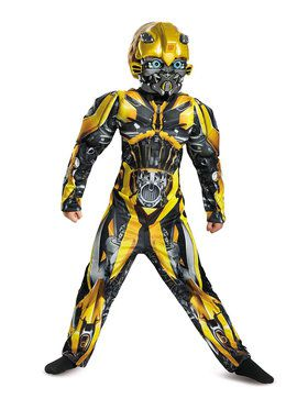 Transformers - Bumblebee Muscle Costume For Children