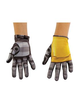 Transformers Bumblebee Movie Bumblebee Child Gloves
