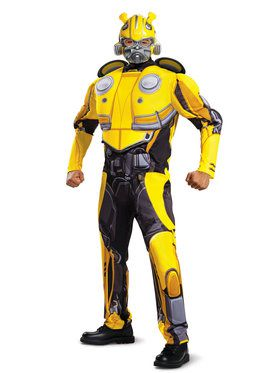 Classic Muscle Bumblebee Movie Costume for Adults