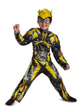 Transformers - Bumblebee Muscle Costume For Toddlers