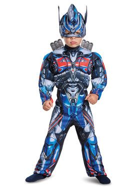 Transformers - Optimus Prime Muscle Costume For Children
