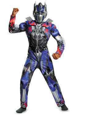 Transformers Optimus Prime Classic Muscle Child Costume