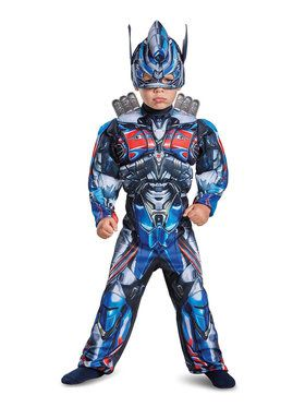 Transformers - Optimus Prime Muscle Costume For Toddlers