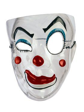 Clear Clown Mask