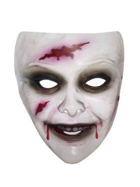 Transparent Zombie Mask Female
