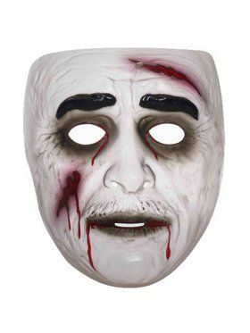 Transparent Zombie Mask Male