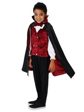 Transylvanian Vampire Costume For Children