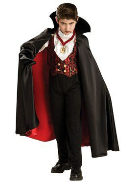 Transylvanian Vampire Costume for Boys