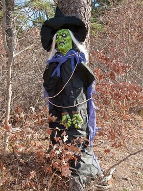 Tree Hugger Witch Decoration