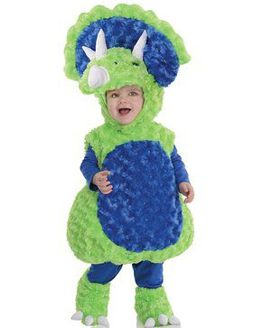 Triceratops Child Costume for Halloween