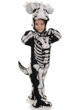 Triceratops Fossil Child Costume