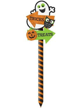 Trick Or Treat Halloween Yard Sign