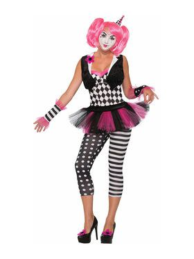 Tricksy The Clown Women's Costume