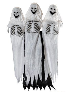 Ghost Trio Animated Prop