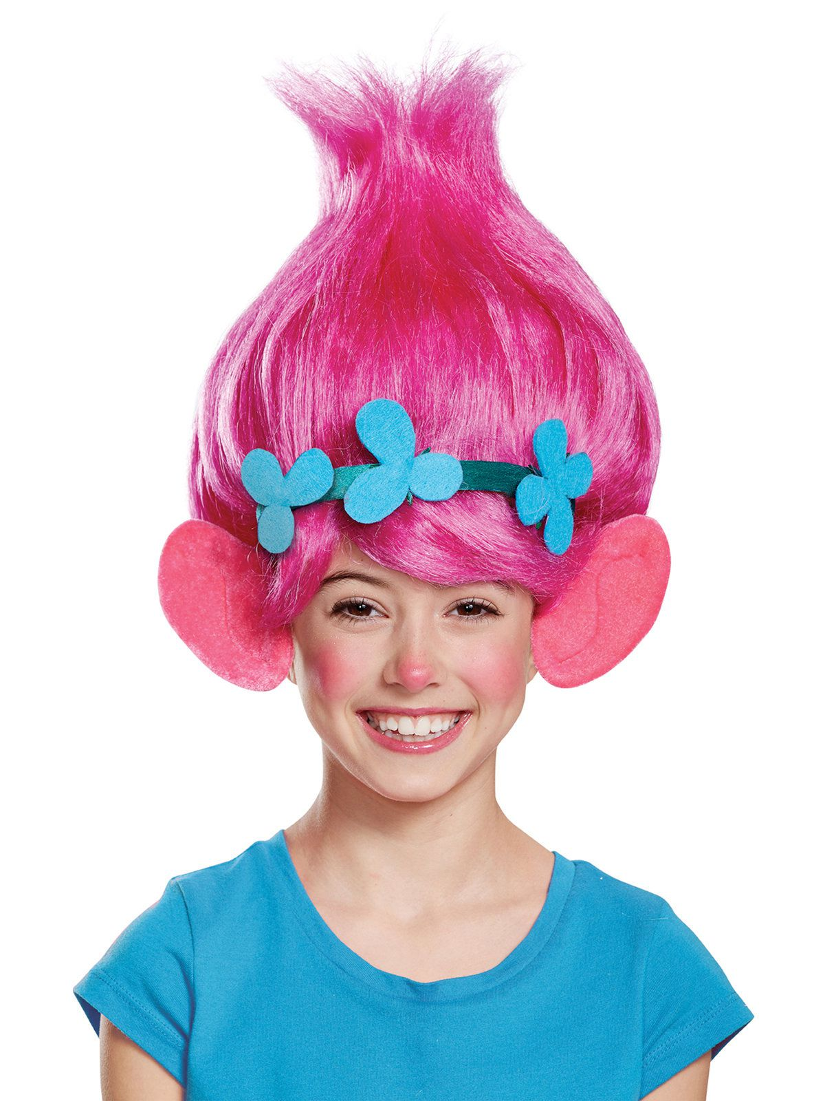 Trolls Poppy Child Wig Costume Accessories For 2018 Wholesale