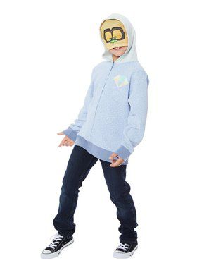 Child's Trolls World Tour Tiny Diamond Convertible Hoodie Costume
