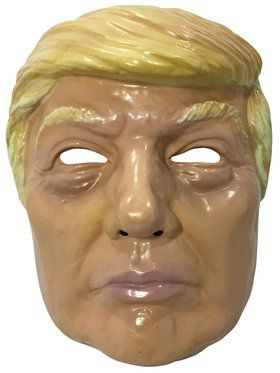 Trump Plastic Mask for Adults