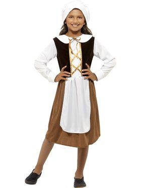 Tudor Girl Girl's Costume