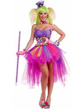 Tutu Lulu the Clown Sexy Costume