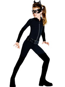 Tween Catwoman Child Costume