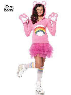 Tween Cheer Bear Care Bears Girl's Costume