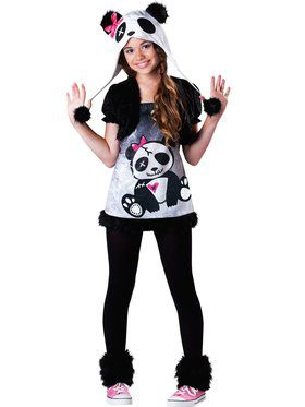 Tween Pandamonium Child Costume