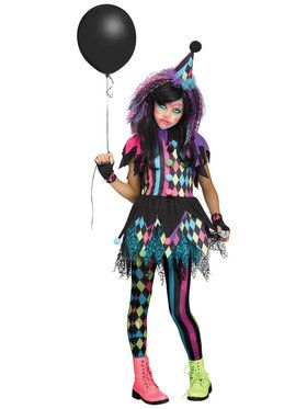 Twisted Circus Costume For Children