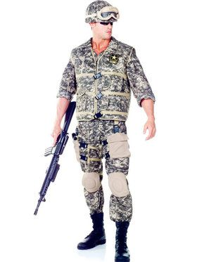 U.S. Army Ranger Men's Costume