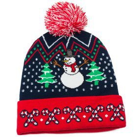Ugly Christmas Hat with Pom Pom