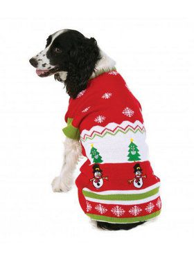 Ugly Christmas Sweater with Pattern Pet