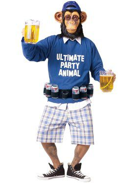 Ultimate Party Animal Mens Costume