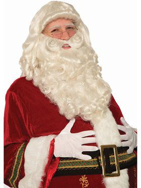 Ultra Premium Santa Beard and Wig Set