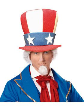 Uncle Sam Classic Adult Top Hat
