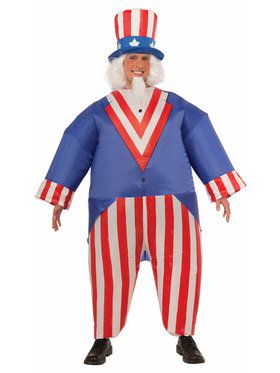 Uncle Sam Inflatable Adult Costume
