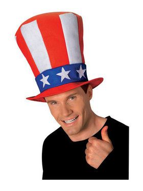 Uncle Sam Stovepipe Adult