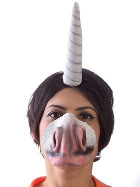 Unicornucopia Unicorn Set Horn and Nose Latex Set