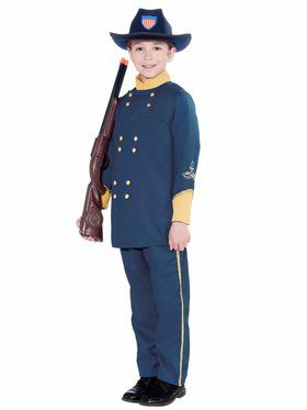 Union Officer Boys Costume