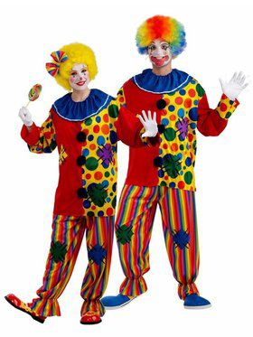Unisex Big Top Clown Costume