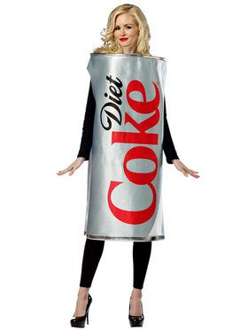 Unisex Diet Coke Can Tunic Women's Costume