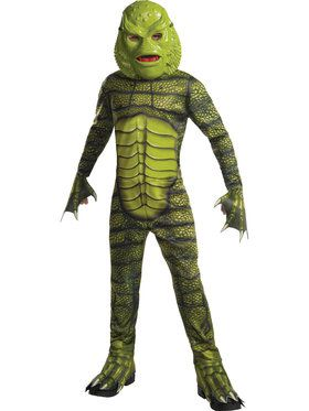 Boys Creature From The Black Lagoon Classic Monster Costume