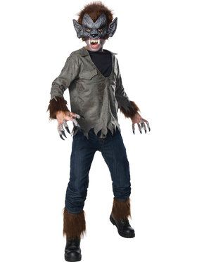Boys Universal Monsters Classic Wolfman Costume