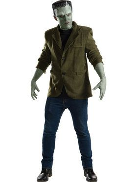 Adult Mens Frankenstein Classic Movie Monster Costume