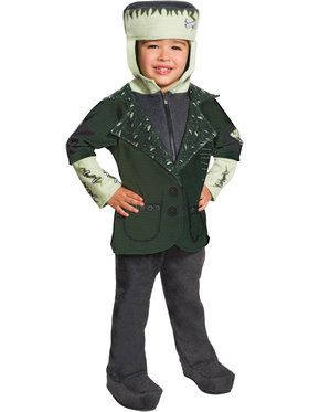 Toddlers Little Frankenstein Universal Monsters Costume