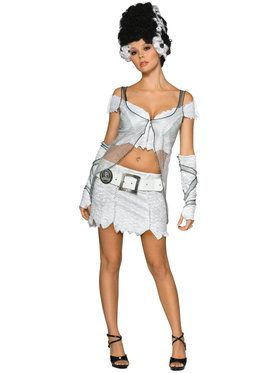 Universal Studios Bride of Frankenstein X-Adult Secret Wishes Costume